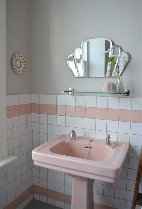 retro sinks bathroom spectacularly pink bathrooms that bring retro style back