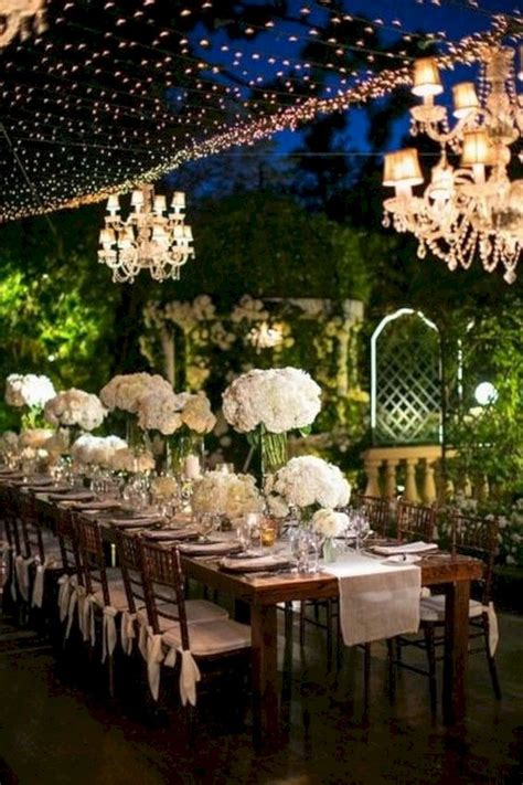romantic outdoor wedding reception ideas oosile