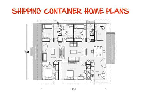 Shipping Container Houses Plans Storage Container House Plans Container House Design
