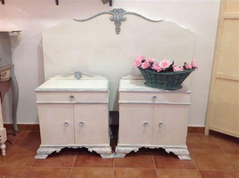 comprar pintura chalk paint autentico cabecero y mesillas pintados con autentico chalk paint