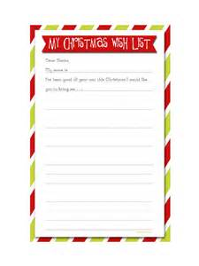 Wish List Template Pdf by Wish List Template 8 Free Templates In Pdf