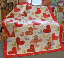 random hearts by ladylike design quilting pattern
