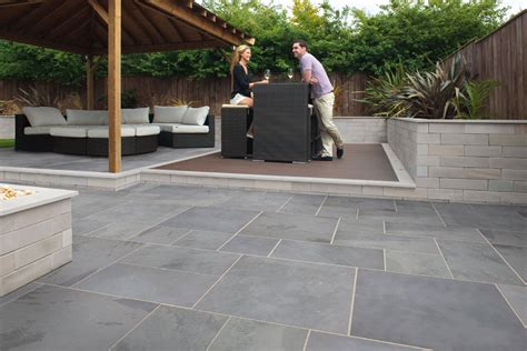 garten fliesen fairstone slate casarta garden paving marshalls co uk