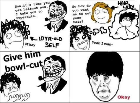 troll meme haircut what makes me laugh pinterest