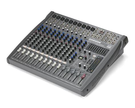 Mixer Audio Samson samson mixer