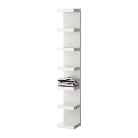 White Slim Bookcase Librerie Ikea Foto Design Mag