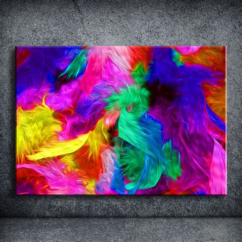 abstract prices get cheap colourful abstract paintings aliexpress