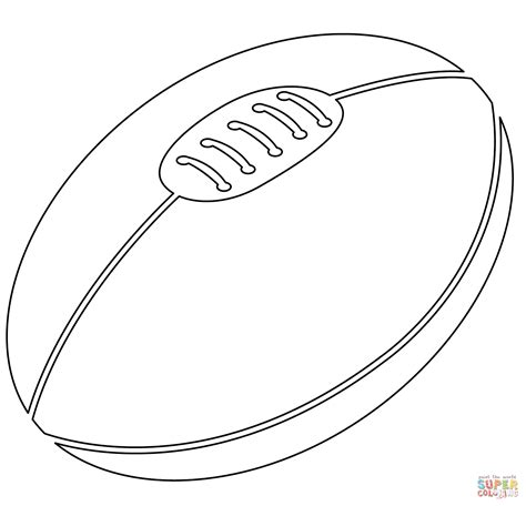 printable rugby images coloring book sports balls alltoys for