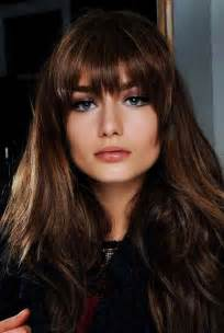 hairstyles without bangs for faces choosing bangs hairstyles accordance face shape look