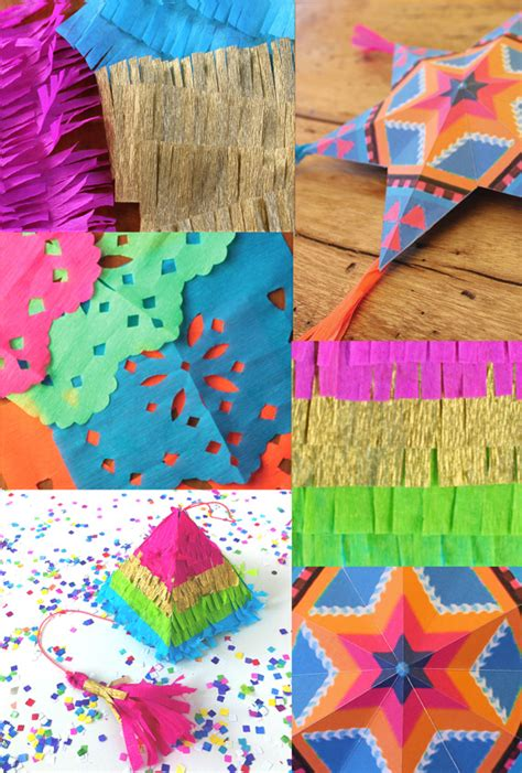 mexican paper crafts 4 and easy to make mexican paper craft decorations