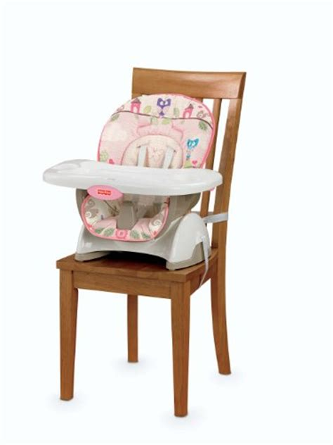cl on high chair fisher price space saver high chair pink new ebay