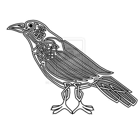 celtic raven tattoo celtic looped celtic and norse corvids