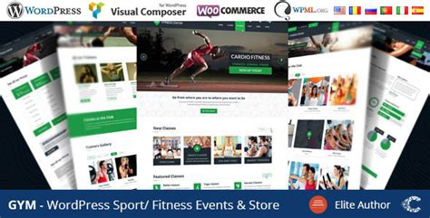 bootstrap themes gym 25 best sports responsive wordpress themes tutorial zone