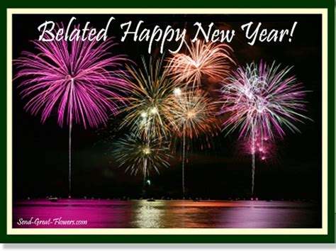 belated happy  year wishes wishes  pictures  guy