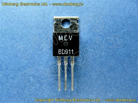 bd139 equivalent transistor replacement semiconductor bd911 bd 911 transistor silicon npn 100v 15a 90w