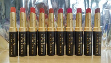 Lipstik Viva berita terkini review 10 viva matte lip