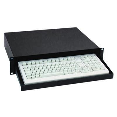 Desktop Keyboard Drawer by Adam 19 Quot Rackmount Computer Keyboard Tray