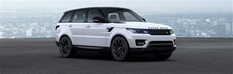 white and black range rover sport range rover sport colours guide carwow