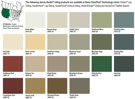 jams colors hardie fiber cement siding western colors wall