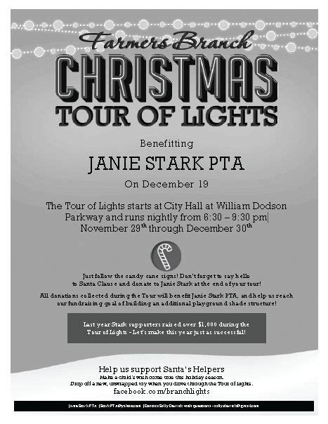 farmers branch tour of lights 67 best event invitations images on pinterest event