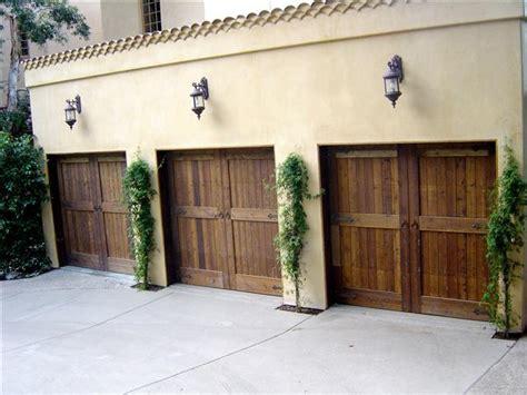 Custom Wood Doors La Overhead Garage Door