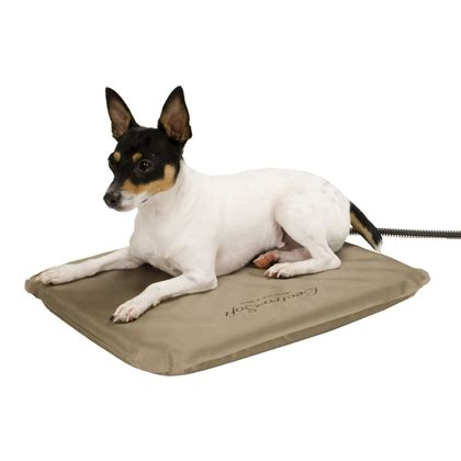 outdoor heated beds lectro soft outdoor heated bed 1800petmeds