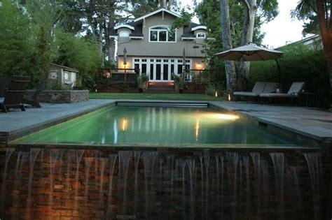 infinity pool backyard infinity edge pools landscaping network