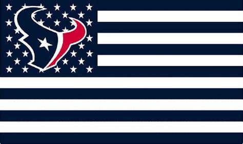houston texans logo  stars  stripes flag ftxft