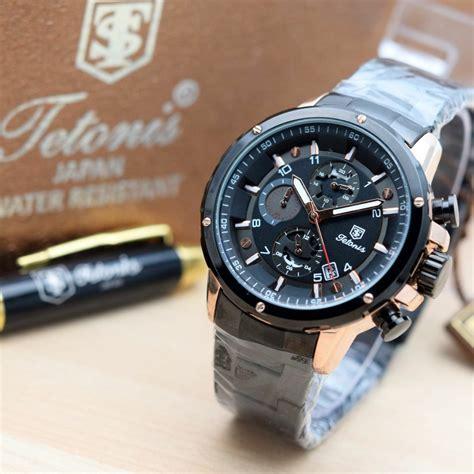 jual jam tangan pria premium tetonis ts  original