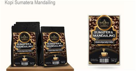 desain kemasan pdf gunungwarna bikin label kemasan kopi dengan desain elegan
