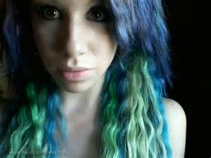 blue green hair color my self expression hair colors ideas