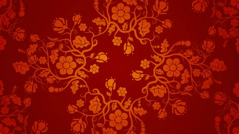 chinese pattern hd red chinese wallpaper designs 04 of 20 with floral pattern