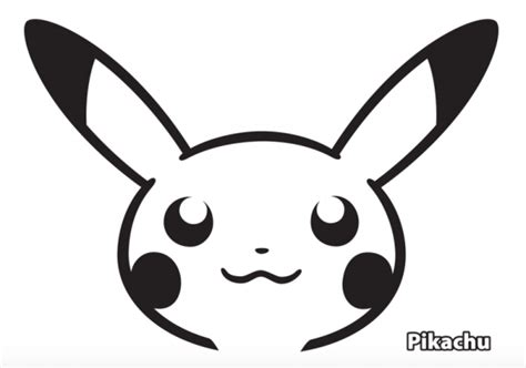 pikachu template printable cut out paper charmander images