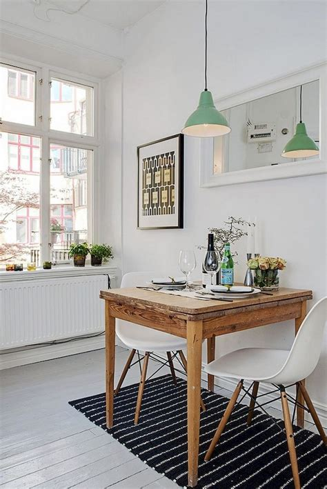 smart small space breakfast nook apartment ideas