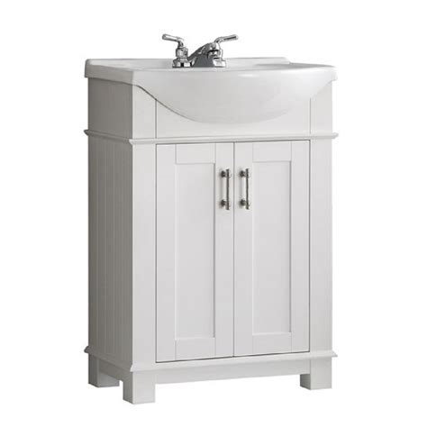 Fresca Hudson 24 In W Traditional Bathroom Vanity In Vanity Bathroom Home Depot