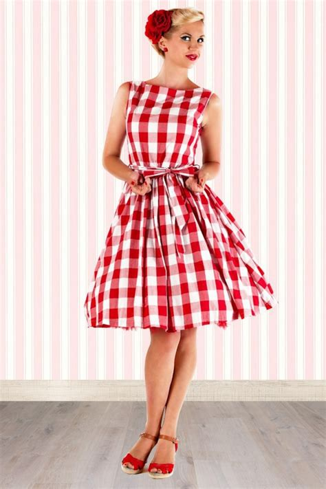 swing style 60s clothing hepburn dress 50s rockabilly swing