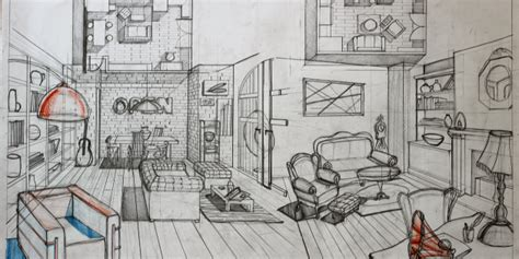 90 interior design drawing tips freehand architecture