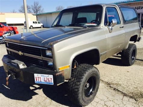 Driver Blazer X10 1984 chevy k5 blazer new rebuilt 350 40over 4x4 rv edelbrock beast truck