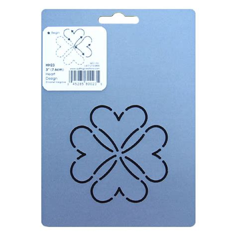 Stencils Quilting by Hh23 Block Quilting Stencil 3 Inch