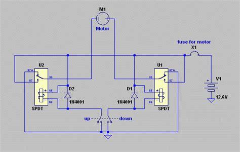 power window motor wiring wiring diagram with description