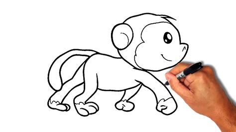 how to do doodle drawings how do you draw a baby monkey step by step archives
