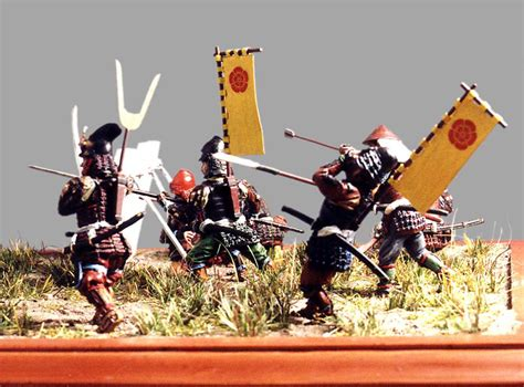 Ad Samurai photo 3 samurai 16 ad dioramas and vignettes