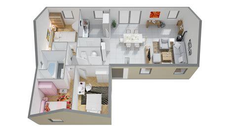 Modele Maison Phenix Plain Pied plans et mod 232 les de maisons plain pied maisons ph 233 nix