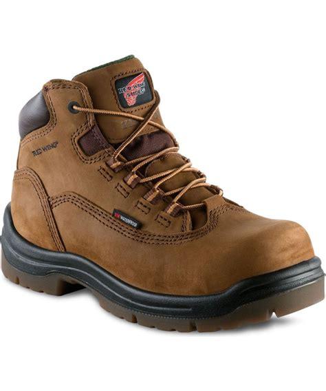 wing composite toe work boots wing women s 5 inch waterproof composite toe boot