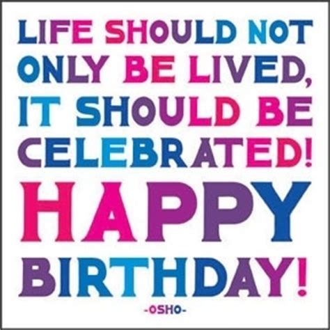 Birthday Celebration Quotes Happy Birthday Love Our Life In Action