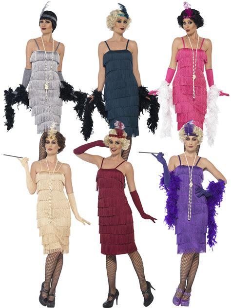 great gatsby themed fancy dress ladies 1920s charleston flapper costume adults gatsby