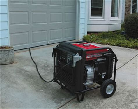 Garage Generator by Honda Em5000is 5000 Watt Portable Inverter Generator