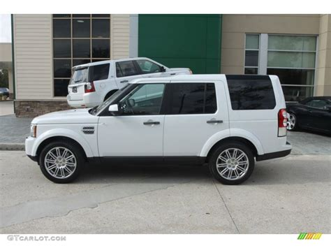 lr4 land rover 2012 fuji white 2012 land rover lr4 hse lux exterior photo