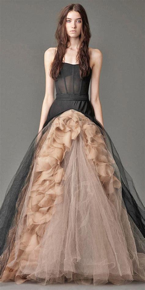 beautiful black wedding dresses   love