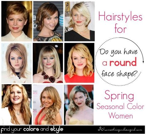haircuts by face shape and hair type do you have a round face shape face shapes face and